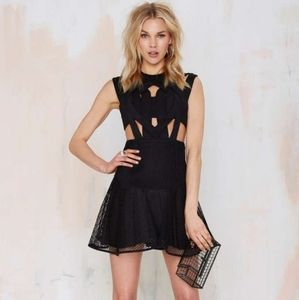 NWT Black strappy dress